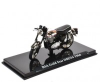 1:24 мотоцикл BSA Gold Star DBD34 1960 Black