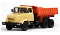 1:43 КрАЗ 6510 (1985-94) самосвал (бежевый / оранжевый)