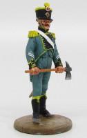1:32 Итальянский пожарный офицер морской охраны г.Венеция 1812