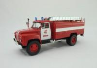 1:43 Горьковский грузовик тип АЦ-30(53-12)-106Г Шухободь