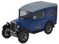 "1:43 AUSTIN Seven RN Van ""Daniel Doncaster"" 1932 Dark Blue"