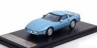 1:43 CHEVROLET Corvette C4 1984 Metallic Light Blue