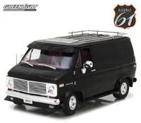 1:18 CHEVROLET G-Series Van (фургон) 1976 Black