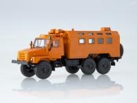1:43 Уральский грузовик 4322 кунг, оранжевый