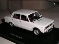 1:43 LADA 1200 1972 White