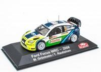 1:43 FORD Focus WRC #3 M.Grönholm/T.Rautiainen Winner Rally Monte Carlo 2006