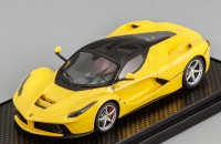 1:43 Ferrari LaFerrari (yellow with black roof)