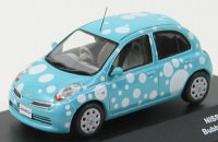 "1:43 Nissan March ""Bubble"" 2009 (blue)"