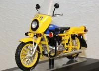 1:18 Миасский мотоцикл  ИМЗ-8.923 Патруль ГАИ, желтый
