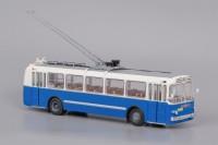 1:43 троллейбус ЗИУ 5 бело-синий