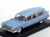 1:43 CADILLAC S&S Superior Hearse (катафалк) 1959 Metallic Light Blue