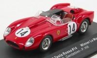 1:43 Ferrari 250 Testa Rossa #14 Winner LM 1958 (Gendebien - Hill)