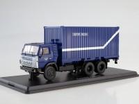 1:43 КАМАЗ-53212 с 20-футовым контейнером, Почта России