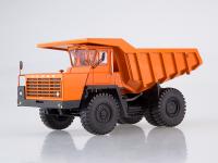 1:43 Карьерный самосвал БЕЛАЗ-540А (решётка с 5 поперечинами), оранжевый