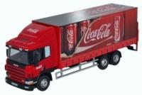 "1:76 SCANIA 94D260 6х4 фургон ""Coca Cola"" 2007"