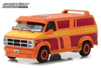1:43 GMC Vandura Custom (фургон) 1983 Orange with Custom Graphics