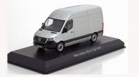 1:43 MERCEDES-BENZ Sprinter Van (W907) 2018 Silver