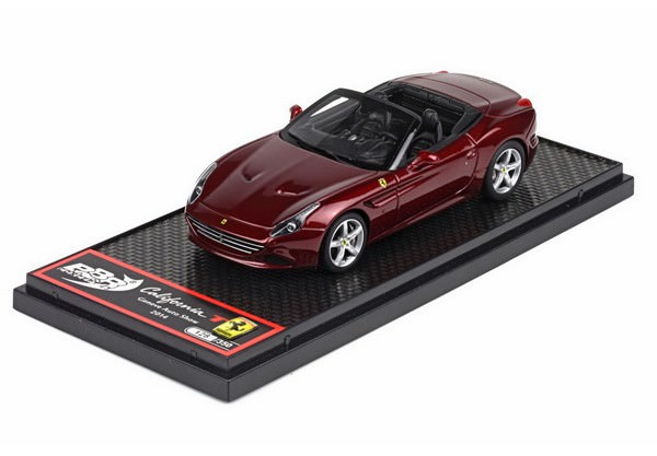 1:43 Ferrari California T - 84th Geneve Auto Show 2014, L.e. (metal red)
