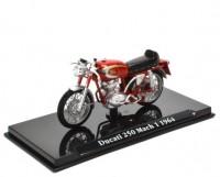 1:24 мотоцикл DUCATI 250 Mach 1 1964 Red