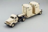 1:43 Горький тип 51П тягач и Т-213 полуприцеп, L.e. (песочный)