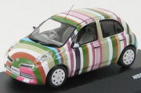 "1:43 Nissan March ""Stripe"" 2009"