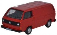 1:76 VW T3 Transporter фургон 1979 Red