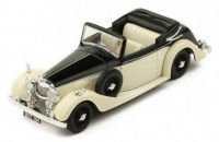 1:43 ALVIS 4.3 Litre Drophead Convertible 1938 Black/Light Beige