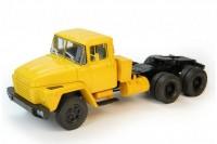 1:43 КрАЗ 252 седельный тягач (1979-1990) (желтый)
