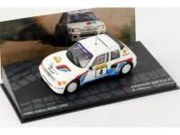 1:43 PEUGEOT 205 T16  A.Vatanen T.Harryman 1000 Lakes Rally 1984