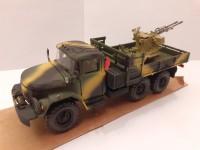 1:43 ЗиЛ-131 Камуфляж с зенитной установкой ЗУ-23-2 в кузове