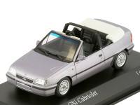 1:43 OPEL KADETT E GSI Cabriolet 1989 Saturn Metallic