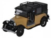 1:43 AUSTIN Low Loader Taxi (с закрытым тентом) 1934 Fawn