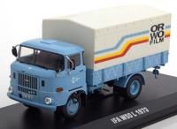 "1:43 IFA W50L грузовик с тентом ""Orwo Film"" 1975 Light Blue"