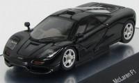 1:43 McLaren F1 road car short tail 1994 (всё открывается) (jet black met. / met. black)