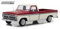 1:18 FORD F-100 пикап 1973 Red and White