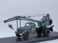 1:43 Автокран ЛАЗ-690 (на шасси ЗИЛ-164), (зеленый)