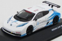 1:43 Nissan Leaf Nismo RC 2011 (white / blue)