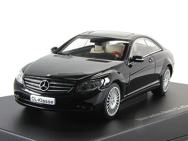 1:43 Mercedes-Benz CL Coupe 500 2006 (black)