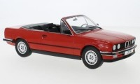 1:18 BMW 325i (E30) Convertible 1985 Red