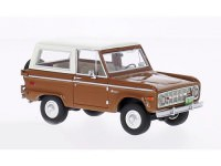 1:43 FORD Bronco 4х4 1970 Brown/White