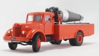 1:43 МАЗ-200 АГВТ Автомобиль газоводяного тушения образца 1952 года