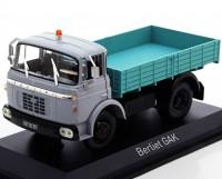 """1:43 Berliet Gak """"Benne"""" бортовой грузовик 1960 Grey/Light Green"""