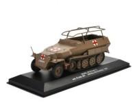 1:43 бронетранспортер санитарный Sd.Kfz. 251/8 Ausf.C Sch. Pz.Abt.501 Тунис 1943