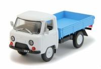1:43 # 101 УАЗ-452Д - светло серая кабина, синий кузов