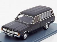 1:43 FORD Taunus P7 Pollmann Funeral  (катафалк) 1969 Black
