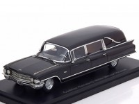 1:43 CADILLAC Series 62 Miller Meteor Hearse (катафалк) 1962 Black