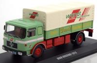 "1:43 MAN BUSSING 19.320 грузовик с тентом ""Wandt"" 1975 Light Green"