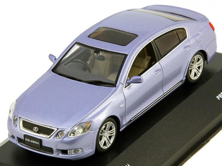 1:43 Lexus GS450H 2006 (premium light blue)