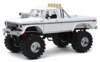 1:18 FORD F-250 Monster Truck Bigfoot 1979 White (колеса 48 дюймов)