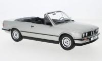 1:18 BMW 320i (E30) Convertible 1985 Silver